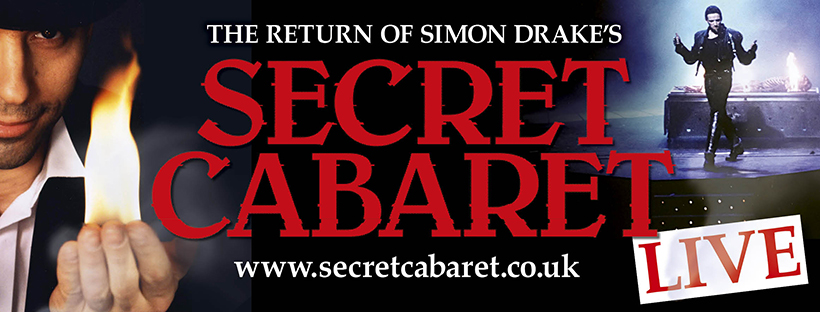 Simon Drake Secret Cabaret LIVE